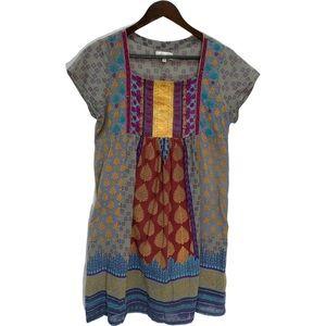 Vintage Pure State Bohemian Cotton Dress Size S/M